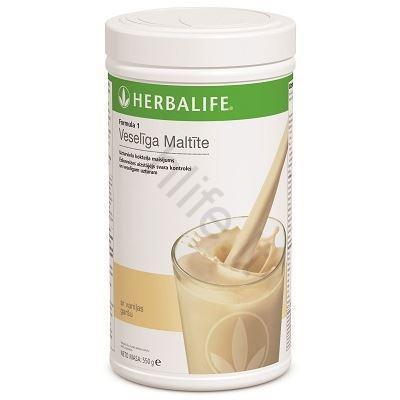 herbalife nutrition vanilinis kokteilis