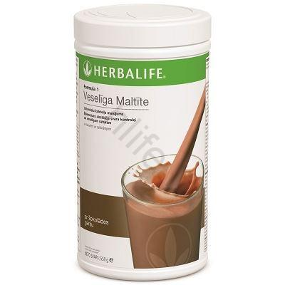 herbalife nutrition šokoladinis kokteilis