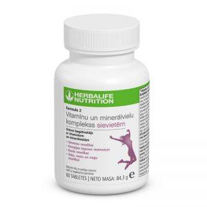 herbalife nutrition vitaminai moterims formula 2