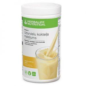 herbalife nutrition bananinis kokteilis