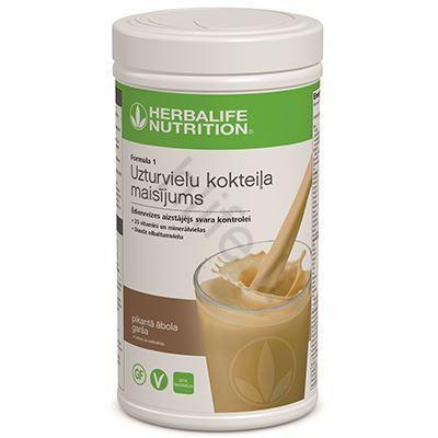 herbalife nutrition obuolių skonio kokteilis